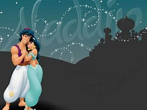 Aladdin images Aladdin and Jasmine Wallpaper HD wallpaper ...