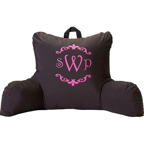 back rest pillow mainstays micro mink plush bedrest walmart
