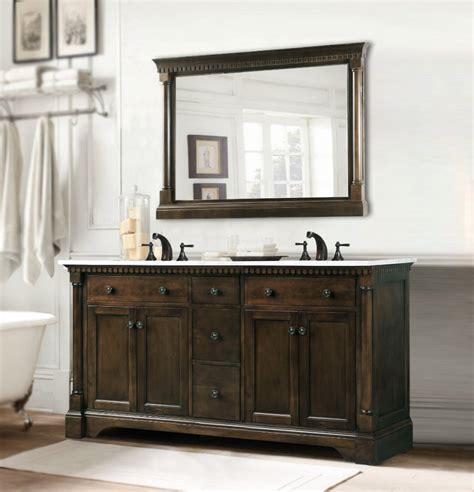 double sink bathroom vanity  extra storage