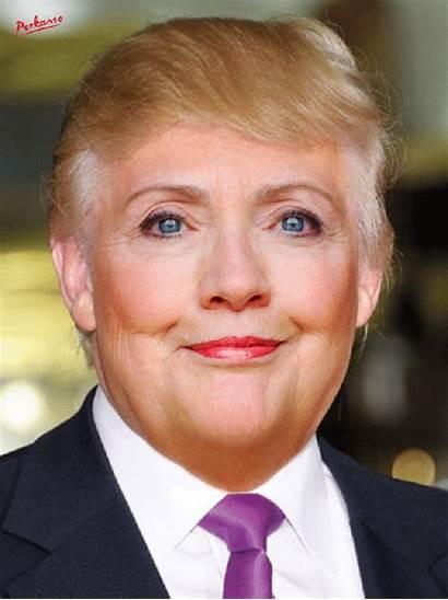 Trump Donald Gifs Hillary Clinton Come Fusion