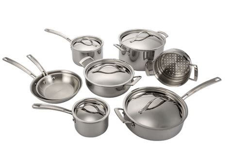 cookware kirkland costco stainless steel signature clad ply piece tri kitchen prices sets cr consumer reports consumerreports
