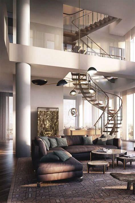 Moderne Häuser Innenarchitektur by Treppe Luxus Villa Interior Decoration Haus