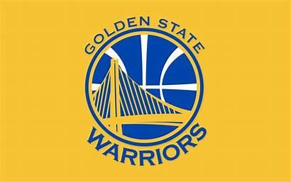 Warriors Nba Golden Basketball State Background Yellow