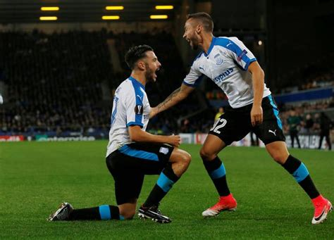 Everton 22 Apollon Limassol As It Happened Europa League
