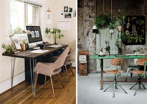 plante pour le bureau la fabrique à déco aménager espace de travail à la maison