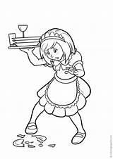 Cameriere Colorare Disegni Waiters Coloring Camerieri Waitresses Camareras Camareros Colorear Kellner Kellnerinnen Flash Varityskuvia Tulosta Stampa Imprimir sketch template