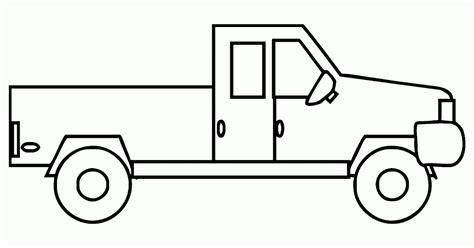 mewarnai gambar mobil truk bak terbuka