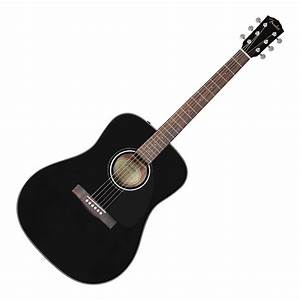 Fender CD-60 Acoustic Guitar, Black | DV247