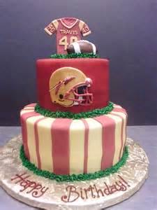 College Football Birthday Cakes
