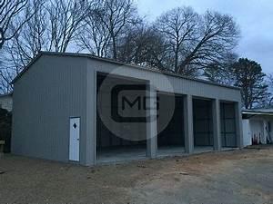 Garage Central : 24x51x14 side entry garage certified metal garage with side entry ~ Gottalentnigeria.com Avis de Voitures