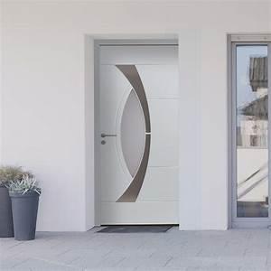Porte d39entree aluminium haute performance monsieur store for Porte d entrée pvc en utilisant porte fenetre 225x140