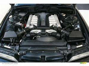 1995 BMW 7 Series 750iL Sedan 5 4 Liter SOHC 24-Valve V12