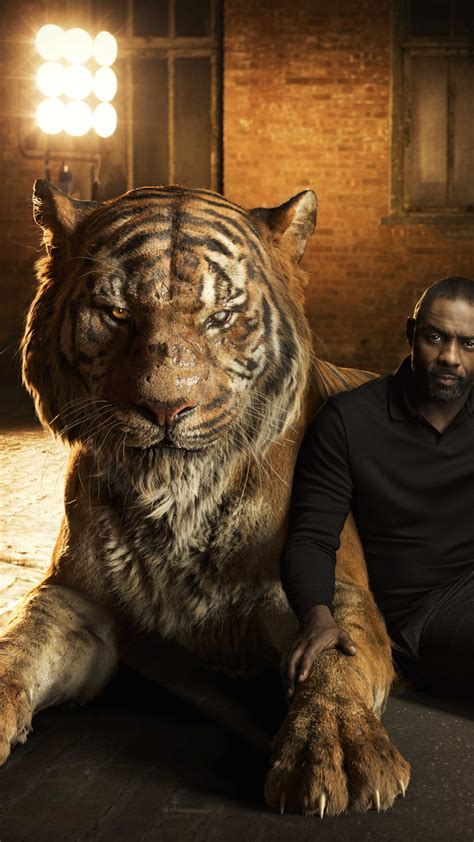 wallpaper  jungle book idris elba shere khan