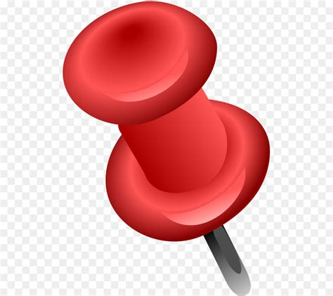 drawing pin  content clip art red push pin png