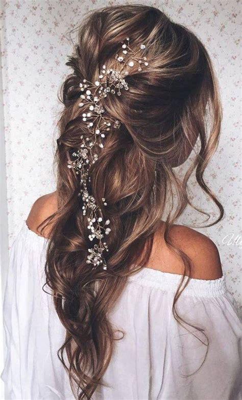 coiffure mariage boheme cheveux long maquillage mariage