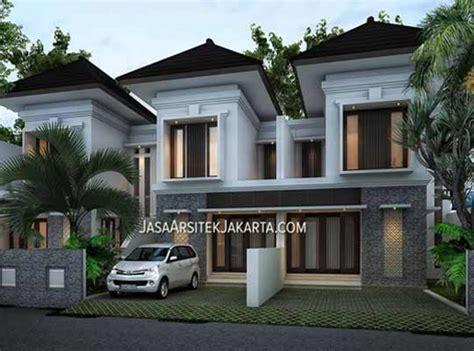 Desain Perumahan 2 Lantai Luas 70m2 Di Jakarta Selatan