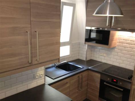 ré agencement cuisine parisienne 5m2 fonctionnelle et
