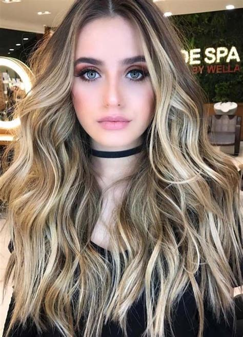 prettiest hair color 58 prettiest balayage hair colors for 2018
