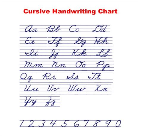 11+ Cursive Writing Templates  Free Samples, Example Format Download  Free & Premium Templates