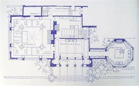 frank lloyd wright studio blueprint by blueprintplace on
