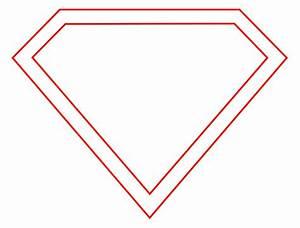 Superman Logo Outline Pages Docstoc Free Batman Symbol ...
