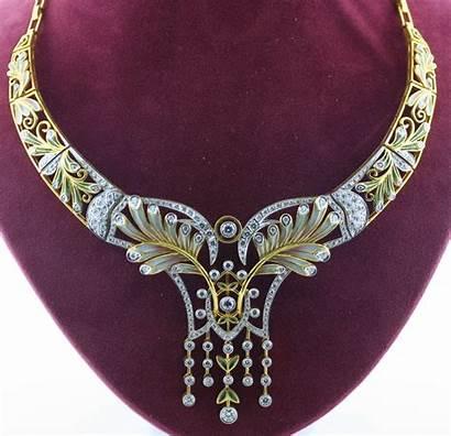 Nouveau Jewelry Deco Masriera Jewellery Estate Necklaces