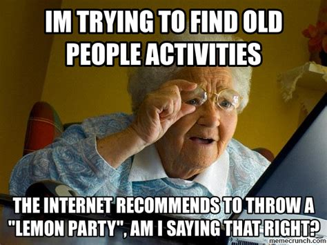 Old Meme - funny old people memes