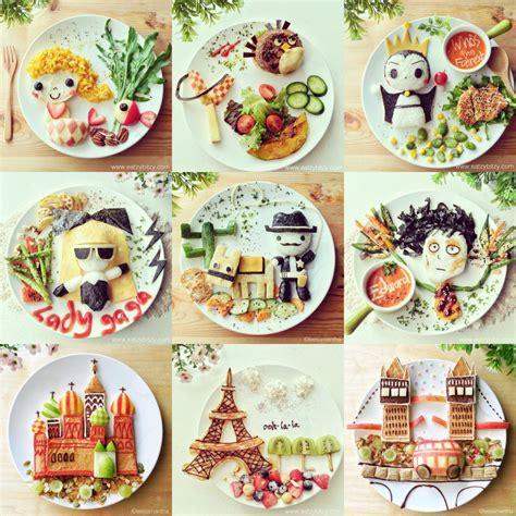creation cuisine creative food design ideas