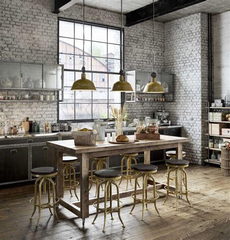 cuisine industrielle design cuisine industrielle en 3d