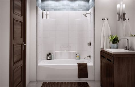 Outstanding Fiberglass Bathtub Shower Combo