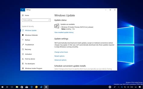 windows 10 insider build 16251 leading to fall creators update changelog pureinfotech
