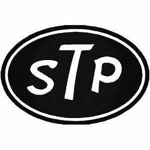Stp Vinyl Decal