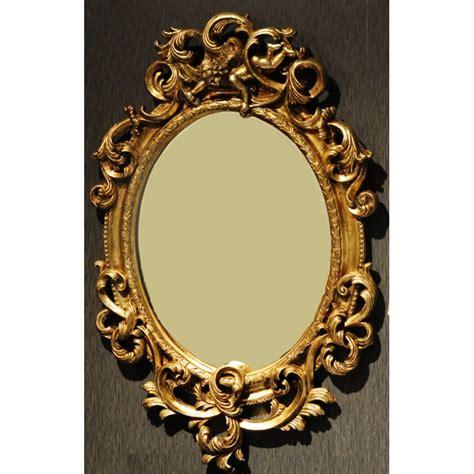 spiegel barock weiß spiegel barock gold 169 00