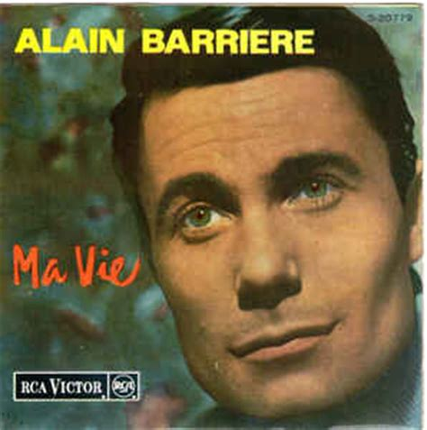 alain barriere ma vie vinyl at discogs