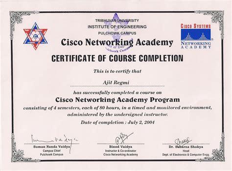 training certificates   ajit regmis portfolio