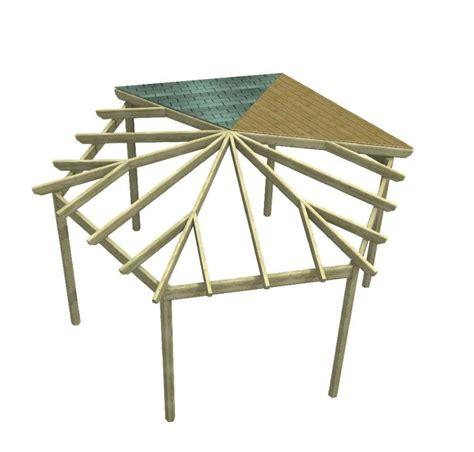 gazebo esagonale in legno gazebo pergola in legno hexagonal tegola