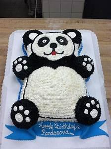 panda bear cake cake ideas and designs With panda bear cake template