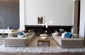 Mur Brique Salon : mur en brique gris ~ Zukunftsfamilie.com Idées de Décoration