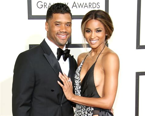 ciara russell wilson share cute engagement vacation video