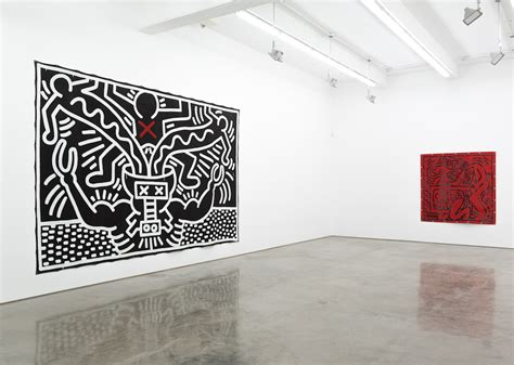 Keith Haring At Gladstone Gallery Through