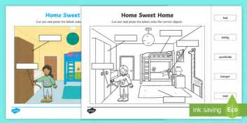 Bedroom Blueprint Activity by Home Sweet Home Label The Bedroom Activity Home Sweet Home
