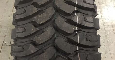 1 New 235 75 15 Ginell Mt Tires 235-75-15 Truck Mud Tires