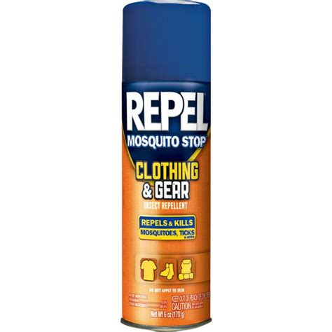 repel mosquito repellent repel mosquito stop spray 6 ounce oz clothing gear insect repellent 170 grams ebay