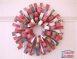 Couronne De L Avent à Fabriquer : couronne de l 39 avent faire avec des magazines cabane ~ Zukunftsfamilie.com Idées de Décoration