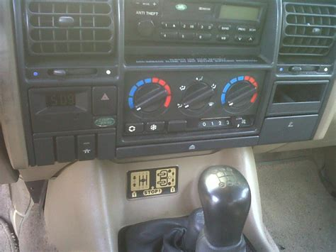 Cruise Control Switch Land Rover Forums