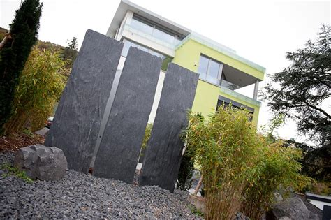 Sichtschutz Garten Schiefer by Stelen Backes