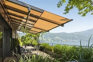 glasdach fur die terrasse vorteile dieser With markise balkon mit strukturputz auf tapete