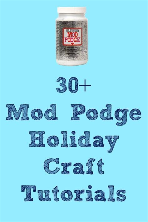 mod podge holiday crafts tutorials crafts halloween and