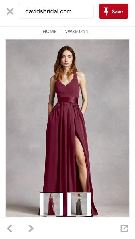 wine color bridesmaid dresses best 25 burgundy bridesmaid dresses ideas on