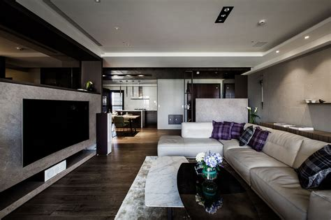 Modern Apartment : Modern Apartments In The Minimalism Style At Taiwan